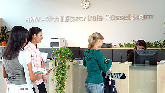 RMV Mobility Center Rüsselsheim