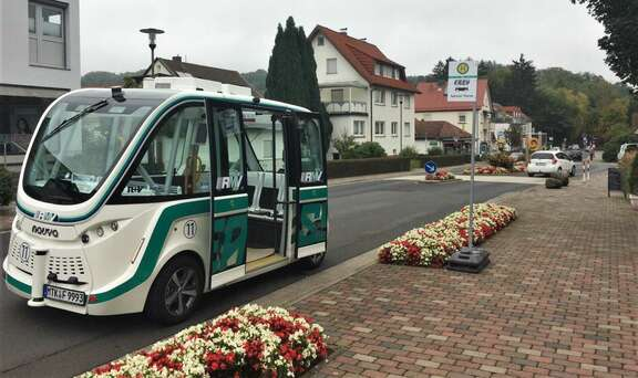Autonomes EASY-Shuttle in Bad Soden-Salmünster