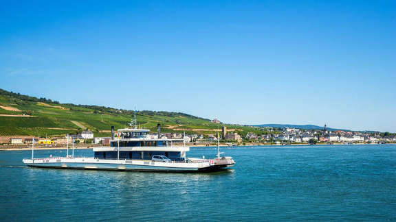Ferry on the Rhine